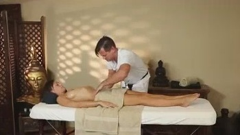 Hidden Camera Massage Room